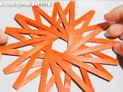 Symetrická hviezda - ako vyrobiť symetrickú (16-cípu) hviezdu