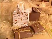 Darčekové taštičky - ako vyrobiť vianočné darčekové tašky