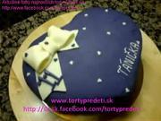 Čokoládovo bánánová torta - ako urobiť marcipánovú tortu v tvare srdca