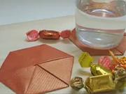 Origami podpivníky - návod ako vyrobiť podložky pod poháre