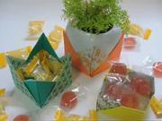 Krabička na cukríky - ako poskladať origami krabičku na cukríky