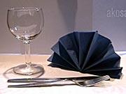 Vějíř - dekorativní vějíř z ubrousku