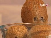 Jak oloupat kokos - loupání kokosu
