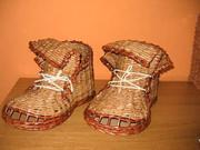 Papierové topánky - ako urobiť topánky pletené z papiera -  pletenie z papiera