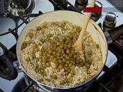 Hlivové rizoto - recept na talianske rizoto s hlivou ustricovou,hráškom a parmezánom