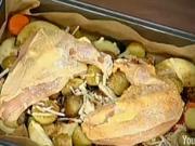 Grilovaná zelenina s kuracím mäsom - recept na grilovanú zeleninu s kuracím mäsom
