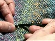 Pletenie - ukončenie do neviditeľného konca