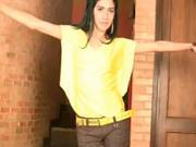 Jednoduché žlté tričko - ako urobiť jednoduché tričko