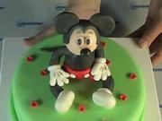 Mickey Mouse torta - ako urobiť Mickey Mousa na torte
