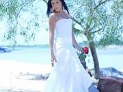Biele svadobné šaty - ako ušiť biele plážové šaty