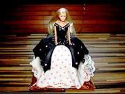 Marcipánová panenka - jak udělat dort s panenkou z marcipánu