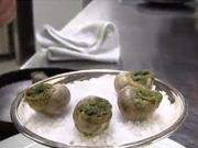 Slimáky s bylinkovým maslom - recept na slimáky s bylinkovým maslom