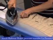 Žehlenie košiel - Ako vyžehliť košeľu