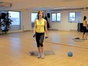 Cvičenie s činkami - c