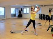 Cviky  s loptou - cviky na spevnenie a formovanie postavy