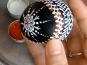 Zdobení kraslice voskem - jak zdobit velikonoční vajíčka voskem