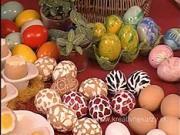 Zdobenie velkonočných vajíčok  - ako dekorovať velkonočné vajíčka
