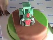 Traktor Váša - ako ozdobiť tortu