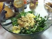 Rukolový šalát - recept  na rukolový šalát s parmezánom