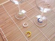 Označovač sklenic - jak označit sklenice na párty