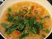 Thajska kuracia polievka - recept na thajsku kuraciu polievku s kokosovym mliekom