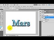 Vytvorenie tieňovaného písma - ako vo Photoshope vytvoriť jednoduché želatinove písmo