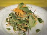 Salát s grilovanou hlívou - recept na salát s grilovanou hlívou