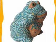 Žabka z mozaiky - ako si vyrobiť dekoráciu z mozaiky