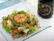 Nádivka z kachních jater - recept na nádivku / krutony z kachních jater