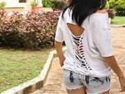 Prerábka trička - ako si prerobiť tričko