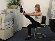 Cviky do kancelárie - Cvičenie v kancelárií 4