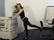 Cviky v kanceláři - cvičení v kanceláří 5