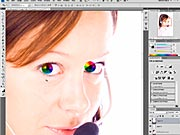 Úprava očí vo Photoshope - Ako upraviť oči na fotografii