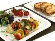 Zeleninový špíz - recept na grilovaný zeleninový špíz