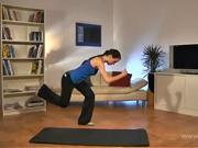 Cviky na zadok a stehna - Cviky na chudnutie 7
