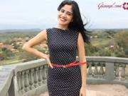 Retro šaty s bodkami - ako si ušiť bodkované šaty