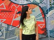 Tričko s krajkou - ako si urobiť tričko s krajkou
