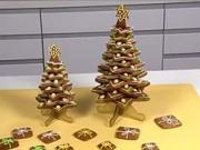 Vianočný stromček z pernikov - ako urobiť pernikovy vianočný stromček