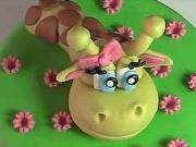 Torta so žirafou - ako urobiť tortu so žirafou