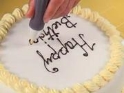 Cukrárenska zdobiaca ceruzka - pomôcka na zdobenie torty