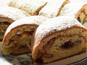 Jablečný koláč - recept na kynutý jablečný koláč