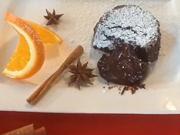 Čokoládový lávový dezert - recept na čokoládový dezert
