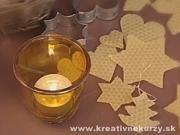 Ozdoby z včelích plastov - ako si vyrobiť vianočné ozdoby