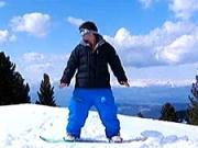 Ako sa naučiť snowboardovať - výber snowboardu-základný postoj-1.diel