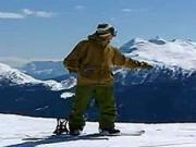 Základy snowboardingu-rozcvičenie-zosúvanie po spádnici-2.diel