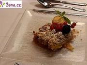 Ovocný koláč - recept na ovocný koláč s posýpkou