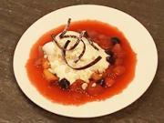 Ovocná omáčka - recept na ovocnú omáčku so zmrzlinou