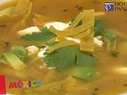 Mexická poilevka - recept na mexickú polievku Sopa Azteca...
