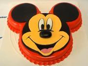 Torta Mickey Mouse - čast 1/2