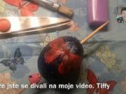 Zdobenie vajíčok technikou decoupage - Ako ozdobit vajička technikou decoupage